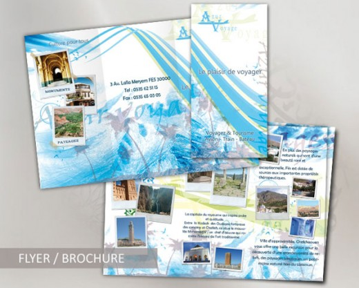 20 Gorgeous Travel Brochures Examples   TutorialChip Brochure Travel Agency