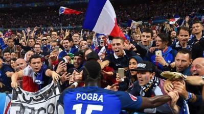 Francia golea a Islandia y va contra Alemania en 'semis'
