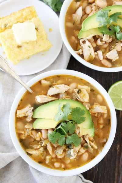 Easy White Chicken Chili Recipe | Two Peas & Their Pod