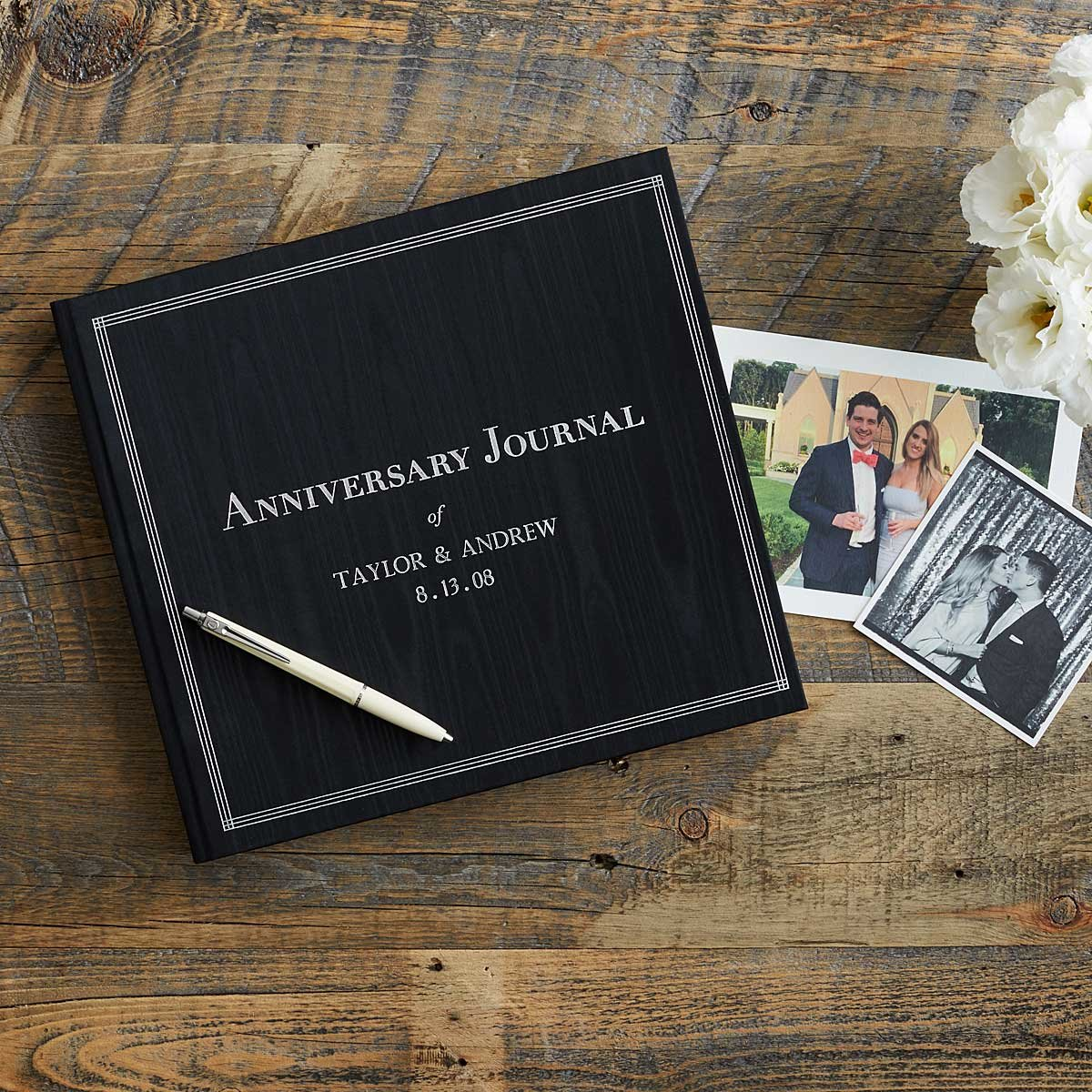 for the couple wedding gift Customizable The Personalized Anniversary Journal