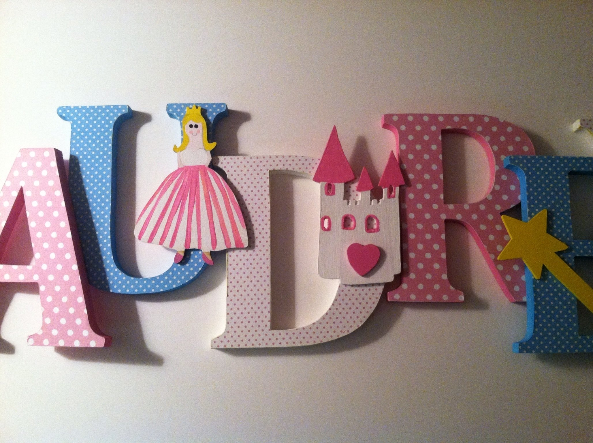 10 Fashionable Ideas For Decorating Wooden Letters 10 Fashionable Ideas For Decorating Wooden Letters wood letter wall decor  elegant princess themed wooden letters