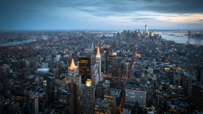 Modern Day City Skyline View HD Wallpaper 21 5120x2880 - Wallpaper - Vactual Papers