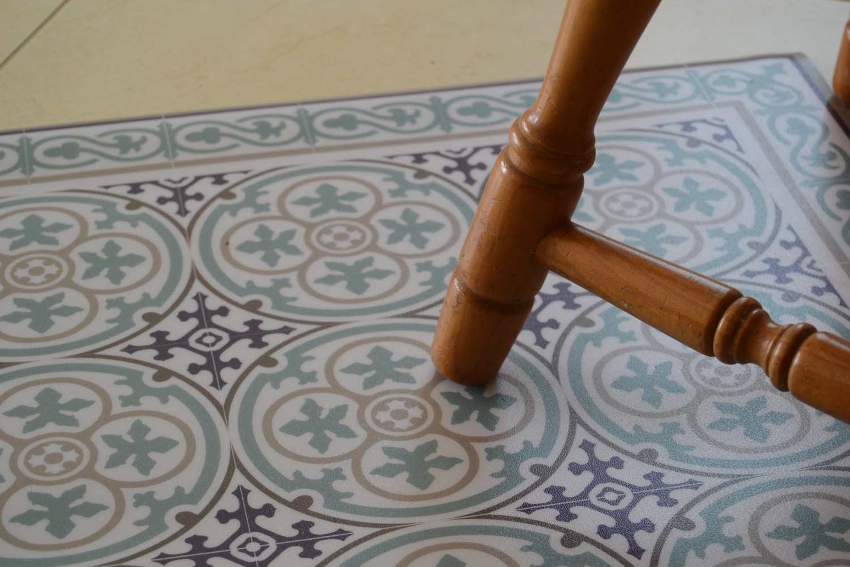 pvc vinyl mat tiles pattern decorative linoleum rug kitchen mat azure and purple 106 free shipping 5897ae9a1
