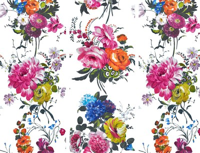 Discount Budget Alternatives to Anthropologie Peony Wallpaper