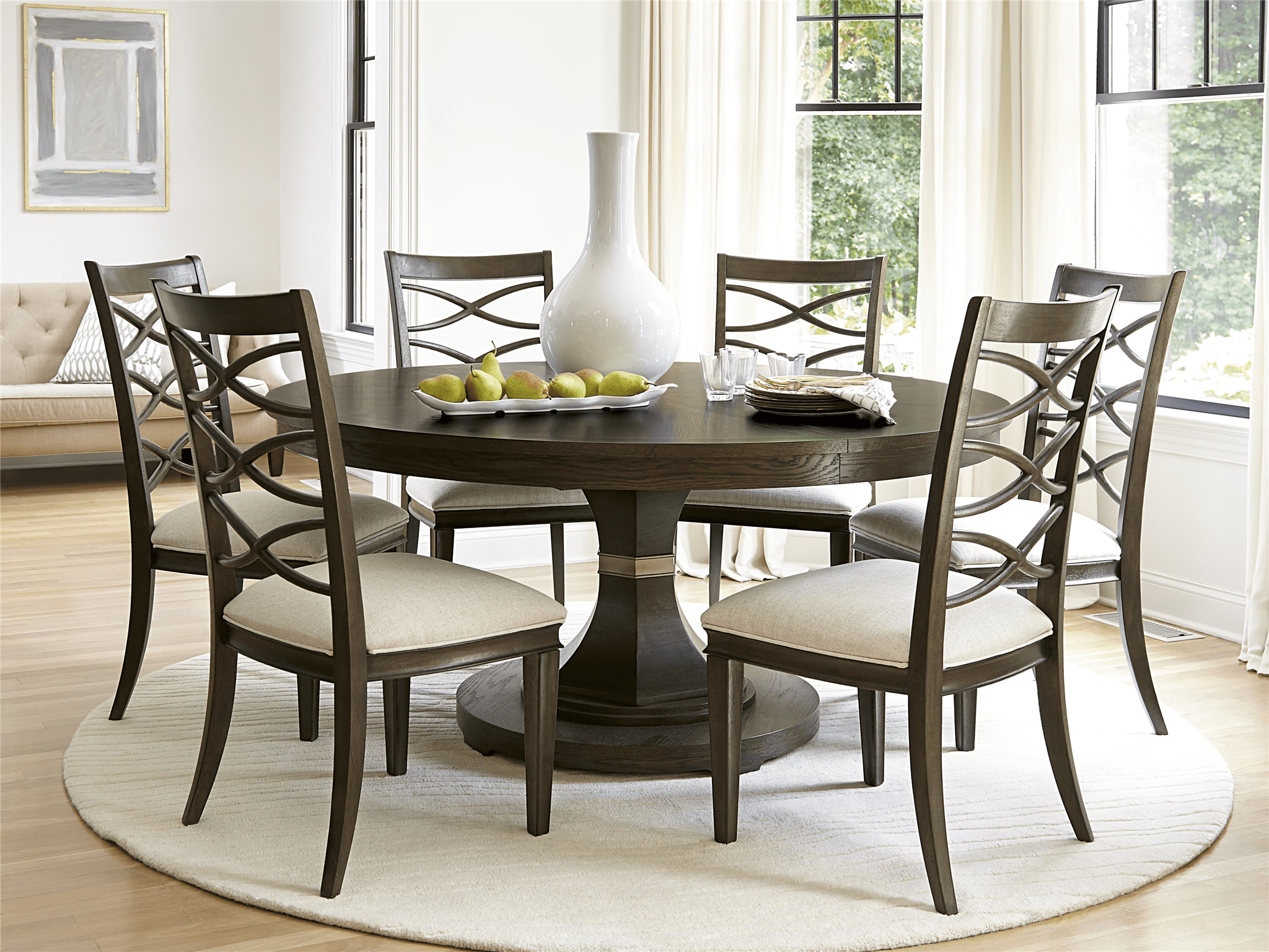round dining table 1 kitchen table and chairs