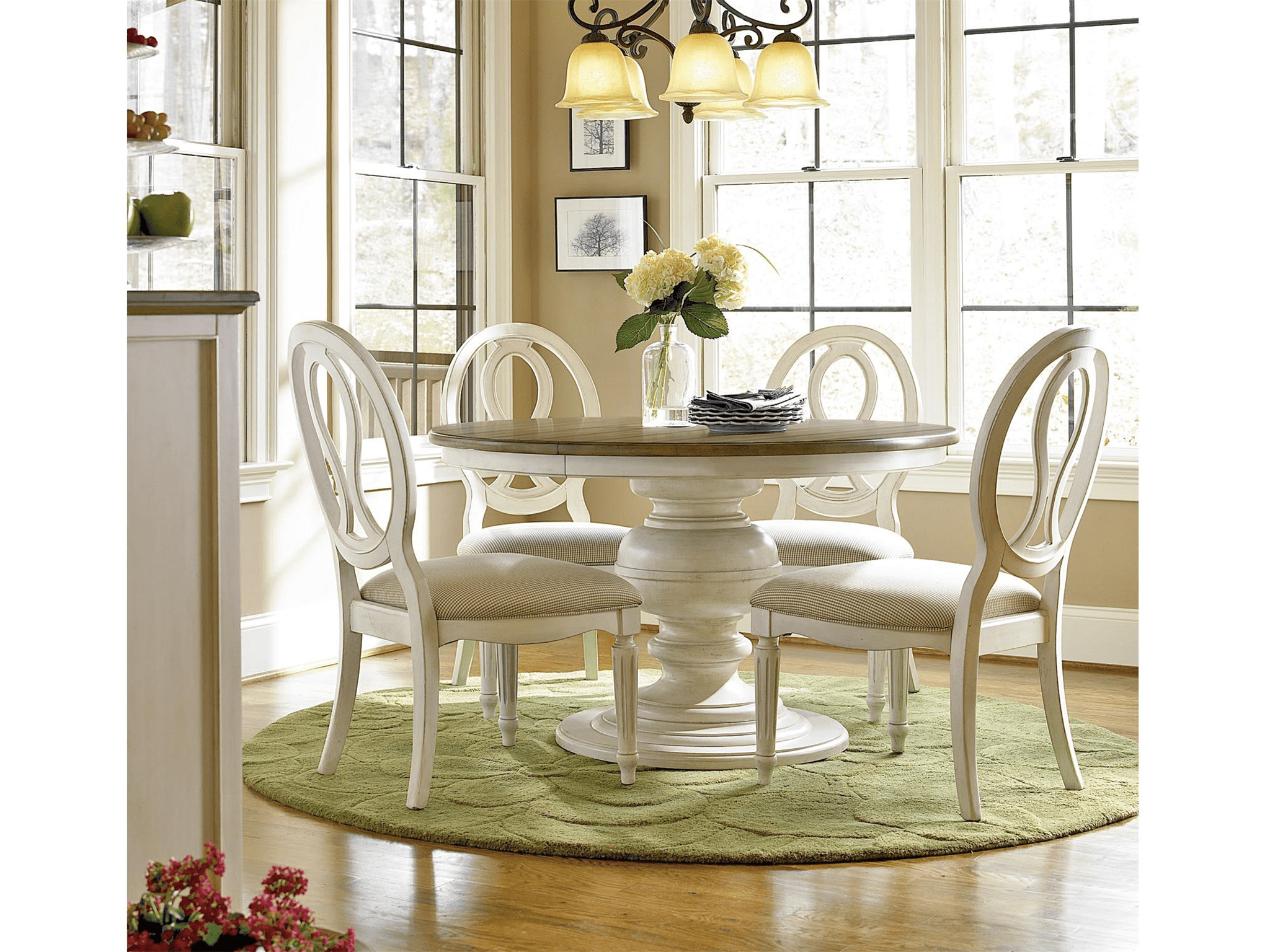 round dining table complete 1 round kitchen table
