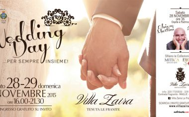 ☆ Wedding Open Day ☆ …Per Sempre insieme! Ospite ALVIERO MARTINI