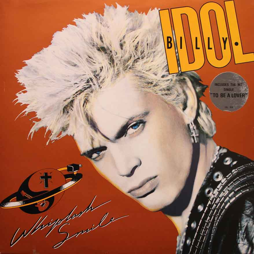 Billy Idol   Whiplash Smile   Vinyl Clocks Billy Idol