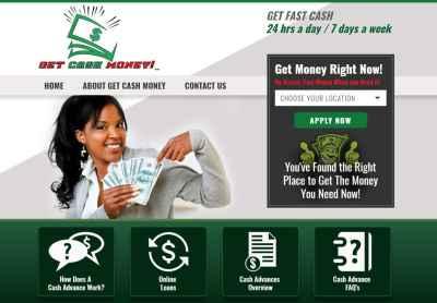 Payday Lending Website Design   Search Engine Optimization VISIONEFX