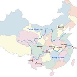 Xi River Map River |