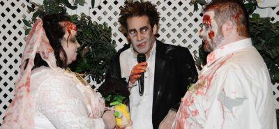 Zombie Themed Wedding Package in Las Vegas