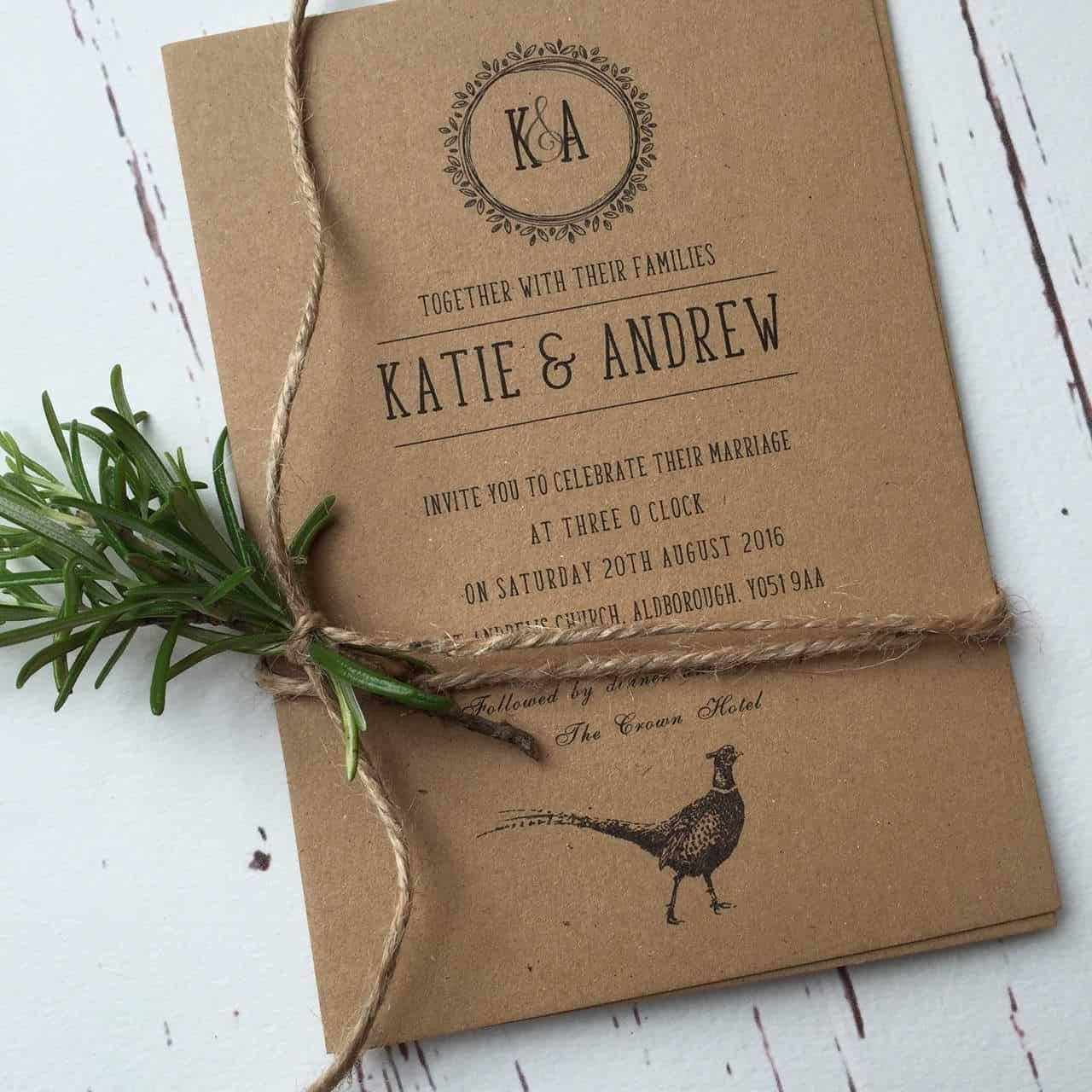 rustic style wedding invitations uk rustic country wedding invitations rustic style invites