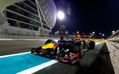 Race Car Formula One F1 Night Lights Driver Red Bull HD wallpaper | cars | Wallpaper Better