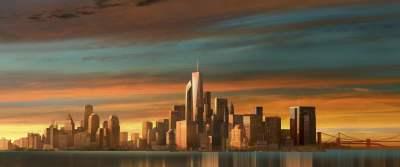 New York skyscraper illustration, skyscraper, city, New York City, One World Trade Center HD ...