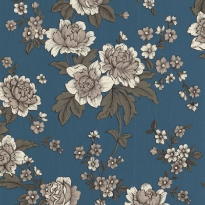Kensington Light Blue White Wallpaper, Buy Blue Wallpaper Online