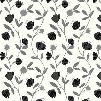 Capri Grey White Wallpaper, Grey Wallpaper, Buy Wallpaper Online