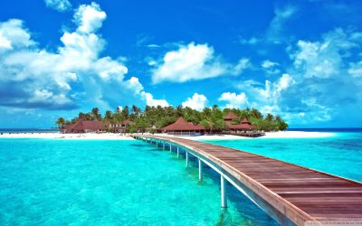 San Andres Is A Colombian Coral Island In The Caribbean Sea Desktop Hd Wallpaper 2560x1440 ...