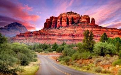Fly Drive Scenario Of Sedona Arizona United States Wallpaper Hd 3840x2400 : Wallpapers13.com