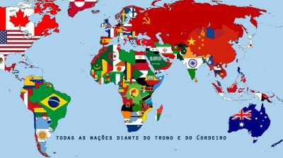 De Todas as Nações! | Wallpapers Cristãos