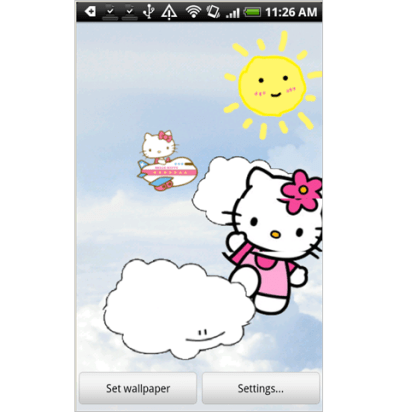 Download Hello Kitty Live Wallpaper Free Gallery
