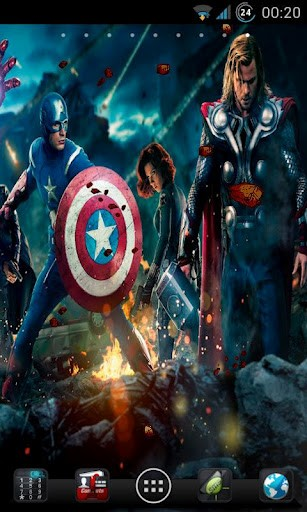 Download Avengers Live Wallpapers Gallery