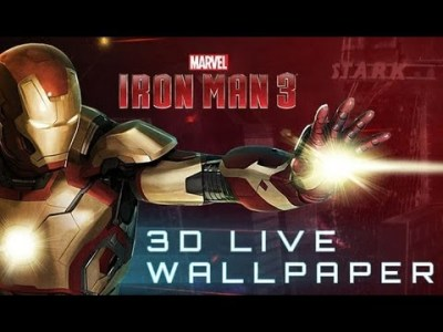 Download Iron Man 3D Live Wallpaper Gallery