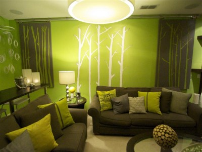 Download Lime Green Living Room Wallpaper Gallery