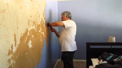 Download Removing Painted Wallpaper Gallery
