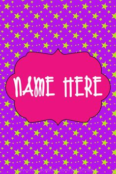 Download Wallpapers That Say Your Name Gallery