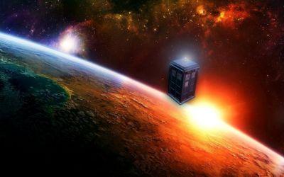 Tardis doctor who space art wallpaper   2560x1600   20307   WallpaperUP