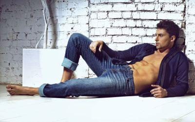 Men male model sexy handsome wallpaper | 1920x1200 | 29443 | WallpaperUP