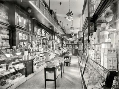 Soda Shop BW Store buildings interior room retro wallpaper | 1920x1440 | 79575 | WallpaperUP