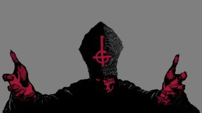 Cross religion album covers upside down Ghost wallpaper | 1600x900 | 81858 | WallpaperUP
