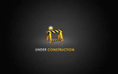 Under construction sign work computer humor funny text maintenance wallpaper website web ...