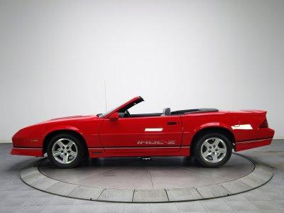 1988aei90 Chevrolet Camaro IROC-Z Convertible muscle iroc wallpaper | 2048x1536 | 559466 ...
