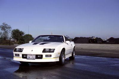 1988aei90 Chevrolet Camaro IROC-Z Convertible muscle iroc wallpaper | 4096x2730 | 559471 ...