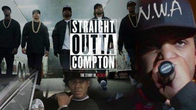 STRAIGHT OUTTA COMPTON rap rapper hip hop gangsta nwa biography drama music 1soc poster ...