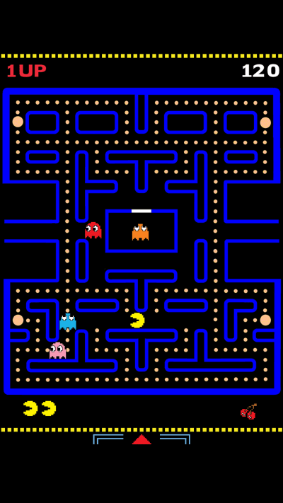 Ultra HD Pac Man Wallpaper For Your Mobile Phone ...0197