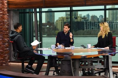 ESPN launches Get Up! to compete with the Today show and Good Morning America as it faces a ...