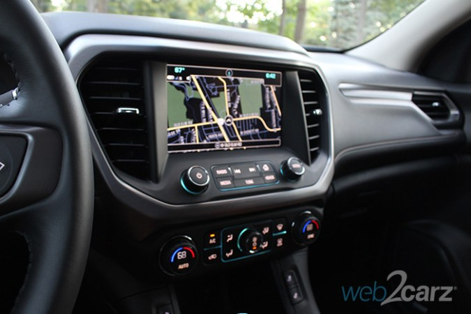 2017 GMC Acadia AWD All Terrain Review   Web2Carz Technology