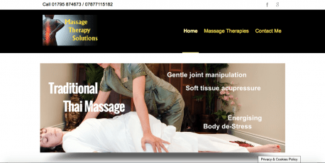 Massge therapy site