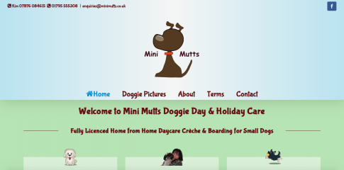 Mini Mutts Website