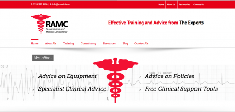 Medical Resuscitation Website