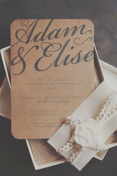 Top 15 popular rustic wedding invitaitons idea samples on ...