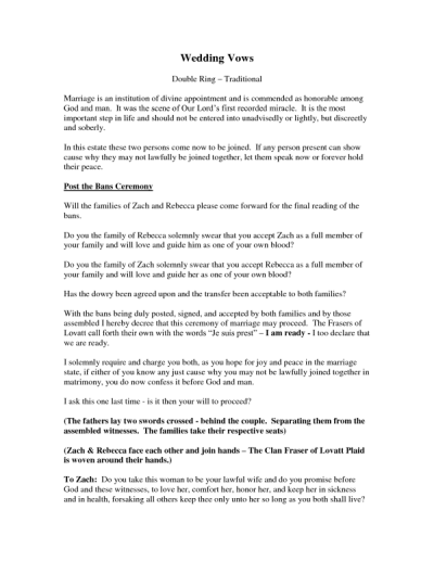 20+ Traditional Wedding Vows Example Ideas You'll Love