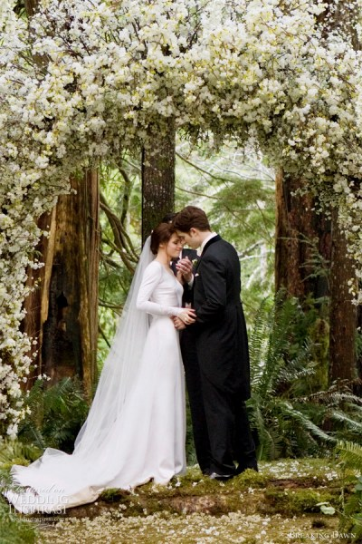 Bella Swan's Wedding Dress + Carolina Herrera Resort 2012 ...
