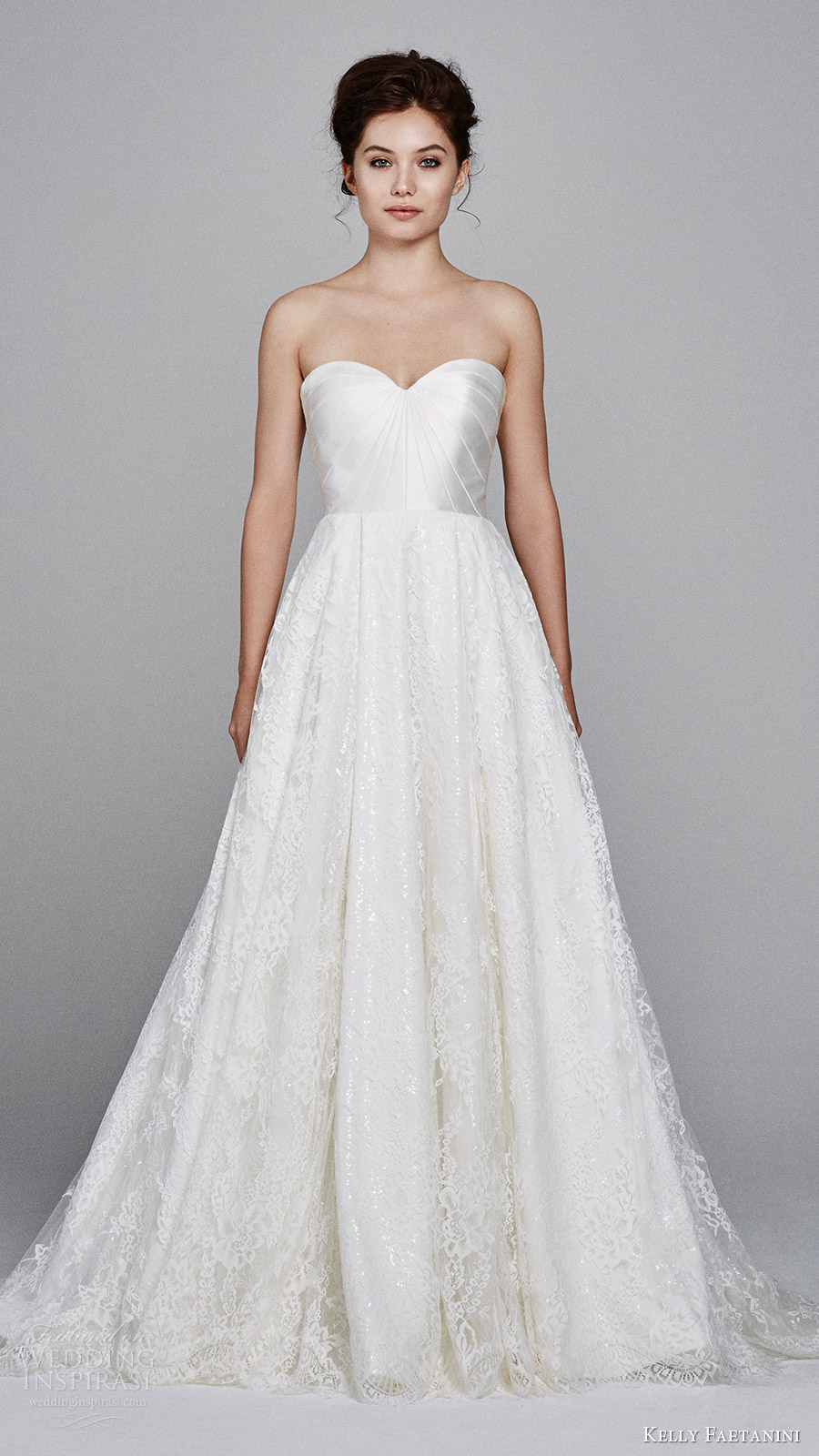 bateau wedding dress wedding dress with pockets Aire Barcelona Bridal Collection