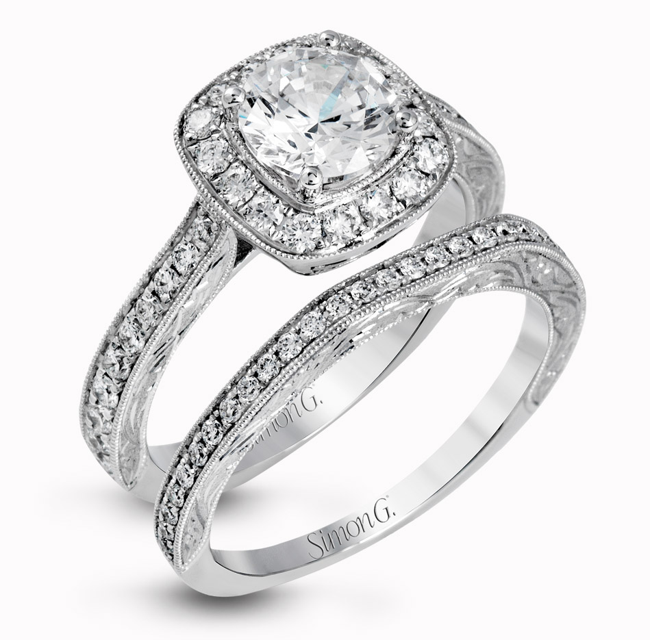 best selling rings wedding bands sets Bling Jewelry Vintage Round Cut CZ Engagement Wedding Ring Set 1 5ct