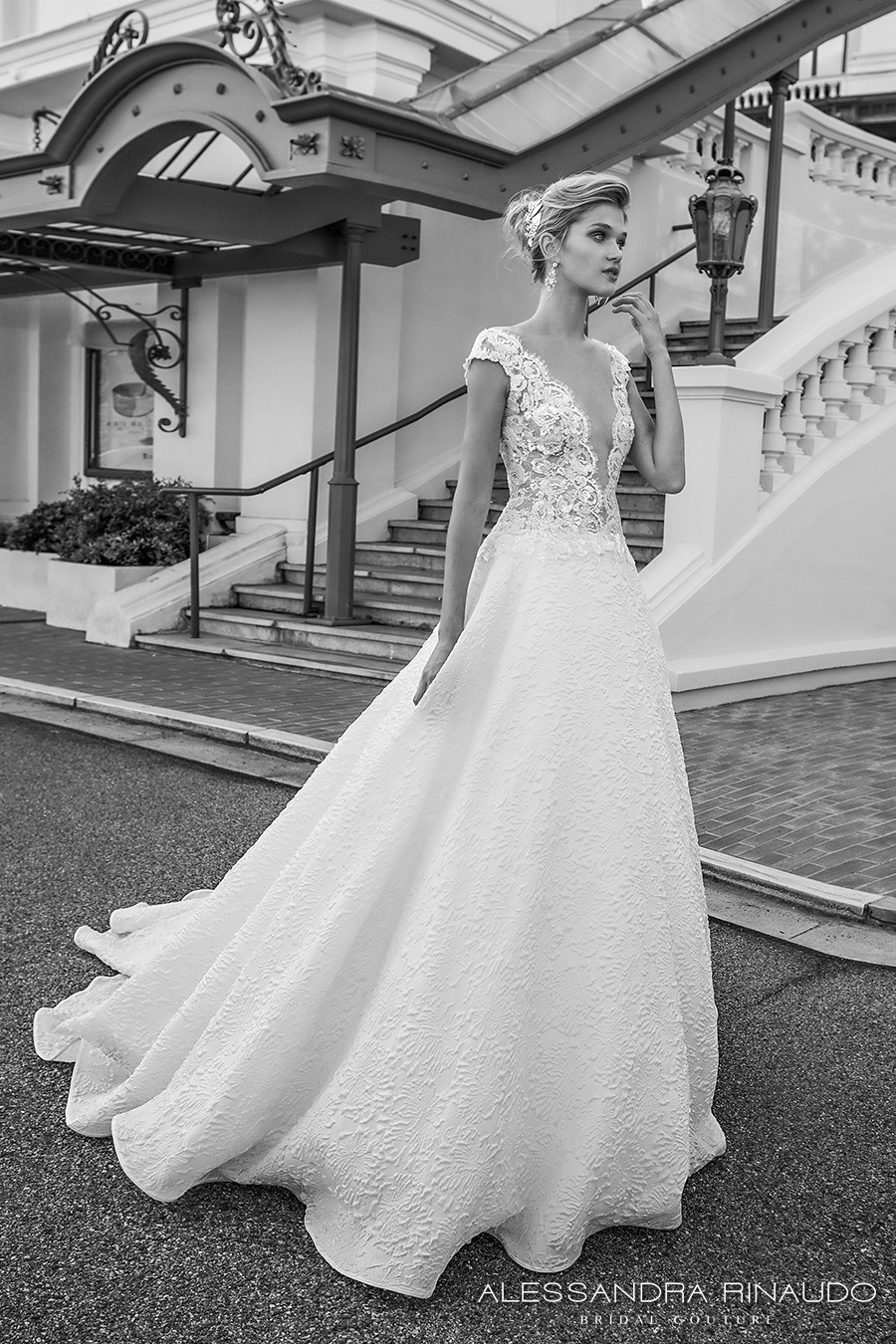 top wedding dress trends fall plunging neckline wedding dress Vivenne Westwood Neckline Wedding Dress Nickles