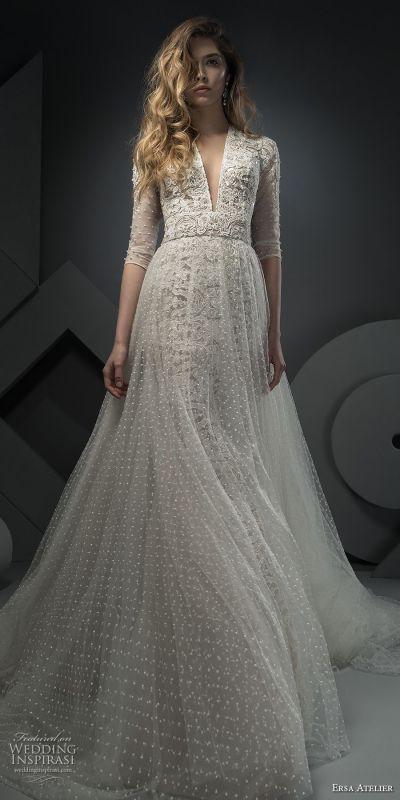 "Ersa Atelier Spring 2018 Wedding Dresses — ""Miss Mist ..."